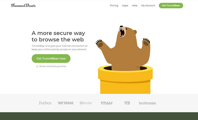 vpn tunnel bear