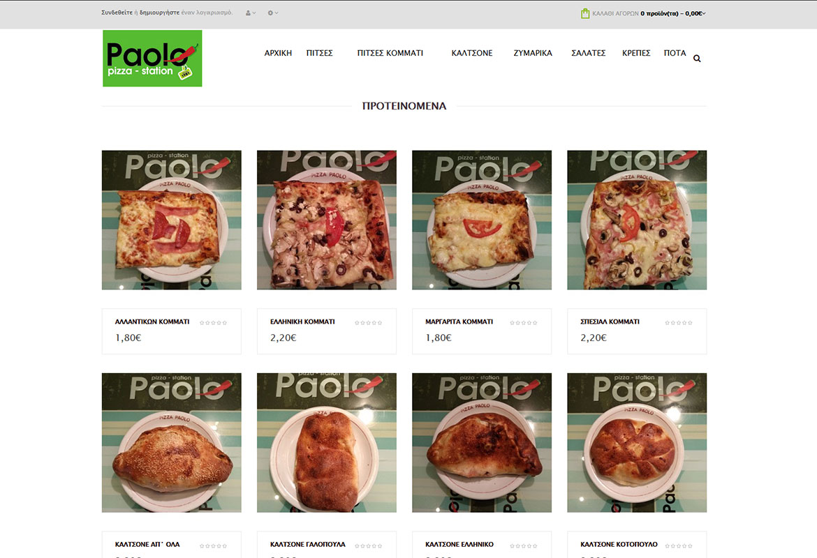 Paolo Pizza online delivery